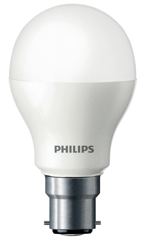 Ampoule led B22 Philips, consommation de 10 watts équivalent 60 watts